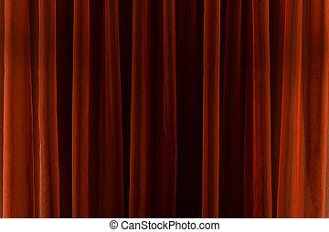 striscie, verticale, astratto, linee, fondo., rosso