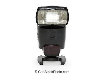 Strobe Flash light for SLR Camera with white background