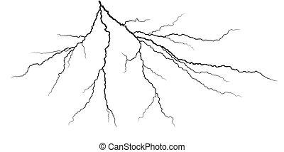 stroke., 閃電