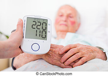 Stroke danger - high blood pressure - Extremely high blood...