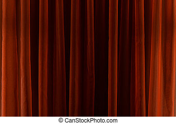 stroken, verticaal, abstract, lijnen, achtergrond., rood