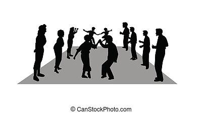 stroll dancing