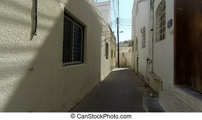 Strolling through Muscat's old town, Muttrah, Oman
