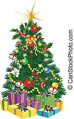 strom, vánoce