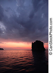 Strombolicchio, Aeolian Islands