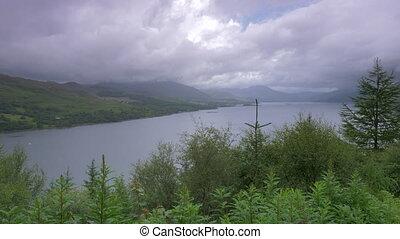Stromeferry Viewpoint, Loch Carron, Scotland - Native...