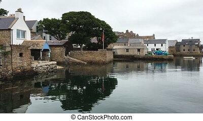 stromness, porto , orkney, schottland