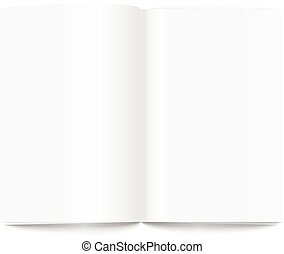 strona, zadowolenie, książka, gotowy, otwarty, template.