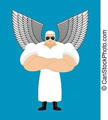 Strong Angel. Powerful Seraphim. the Messenger of God....