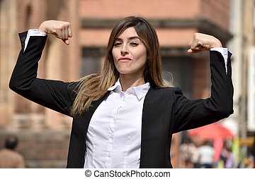 Strong Business Woman