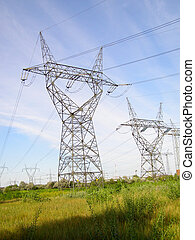 Strong current pylons