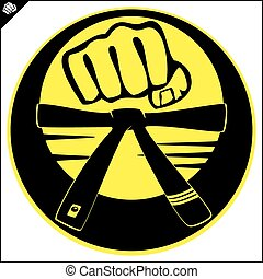 strong fist mma, karate, boxing - power power fist mma,...