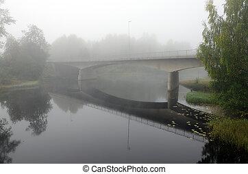 Strong fog