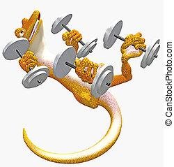 strong gecko