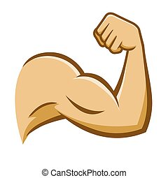 Strong Human Muscle Arm