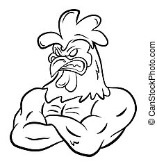 Strong Rooster