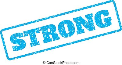 Strong Rubber Stamp