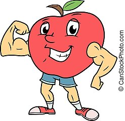Strong smiling apple 2