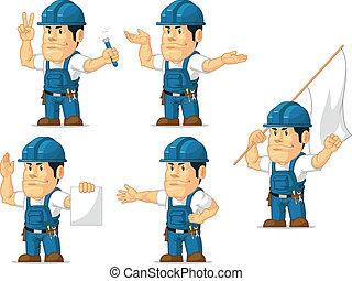 Strong Technician Mascot 9