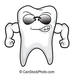 Strong tooth vector