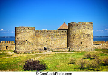 stronghold at Akkerman fortress in Belgorod-Dnestrovsky city, Ukraine