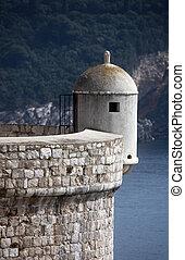 Stronghold of old town Dubrovnik, Croatia