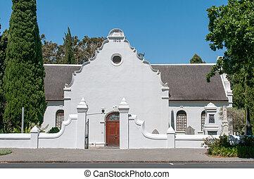Strooidak (reed roof) church in Paarl