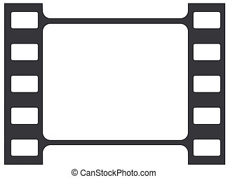strook, film, illustratie, vector