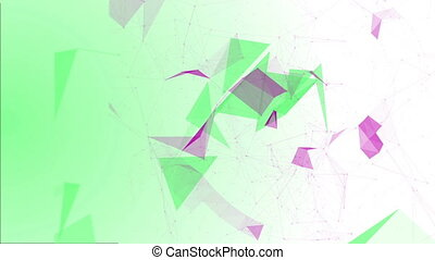 Structural Fragments5 - Abstract background with numbers and...