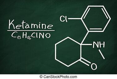 Structural model of Ketamine