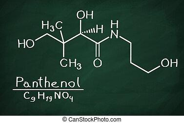 Structural model of Panthenol