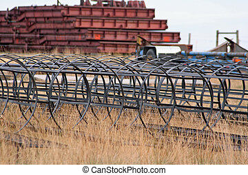 Structural Steel - Structural steel pieces for fabricating...