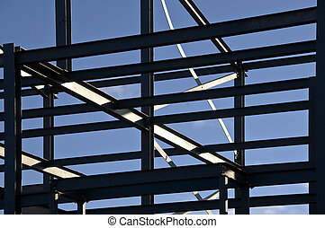 Structural steelwork - Network of structural steelwork...