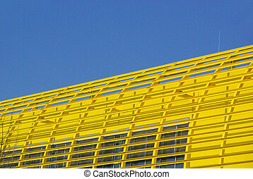 structural steelwork yellow 01