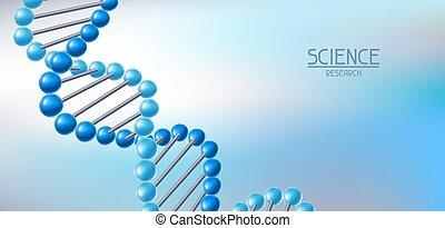 structure., dns, moleküle, hintergrund