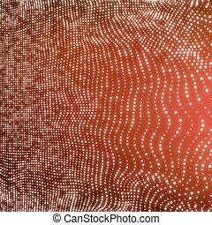 structure., gráfico, rede, lattice, comunicação, abstratos,...