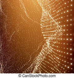 structure., grafisch, netwerk, latwerk, communicatie, ...