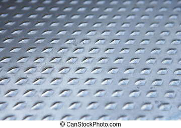 structure of a steel plate