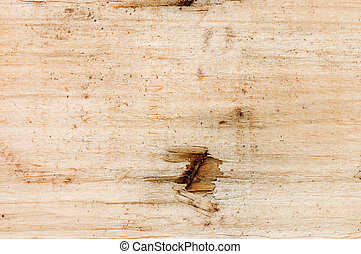 Structure of a wooden board