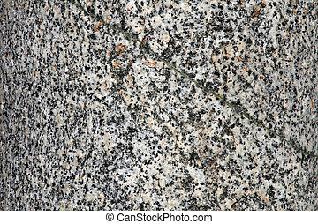 Structure of granite
