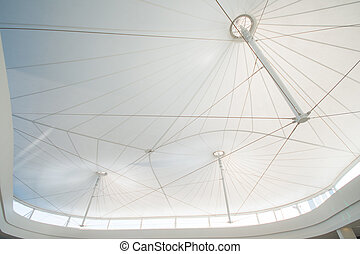 structure of modern inside roof