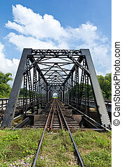 structure of railway bridge