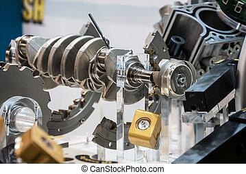 Structure part machining