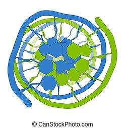 structure., principal, adn, informação, genético, portador, molecular