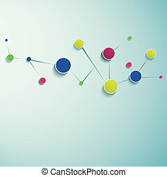 structure., résumé, moléculaire