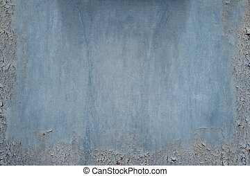 Structured metal surface as an abstract background motive