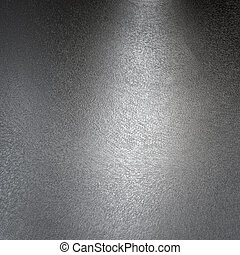 Structured metal surface, silver aluminum
