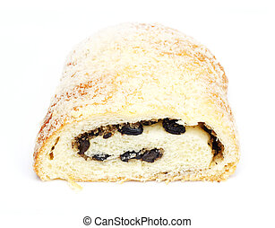strudel with raisins