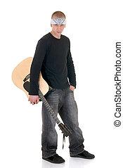 Struggling artist, singer - Handsome youngster, male...