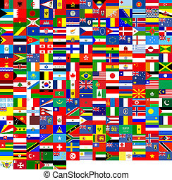 struktúra, zászlók